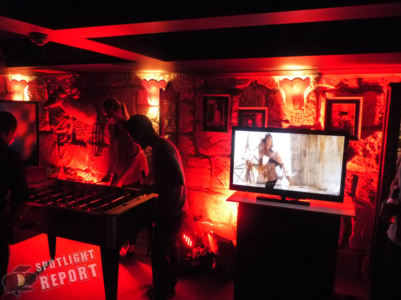 On The Spot Sony Entertainment S Man Cave Party