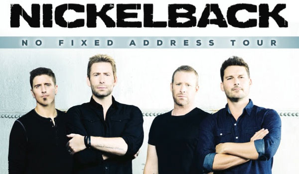 Nickelback tour dates in Sydney