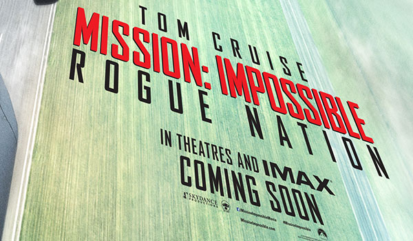 "Mission: Impossible – Rogue Nation"" First Look Teaser"