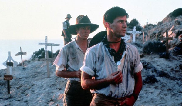 an analysis of the movie gallipoli Gallipoli is partly a film about innocence and purity of heart, and landscape is an important element in that theme the stark desert setting for this scene is almost.