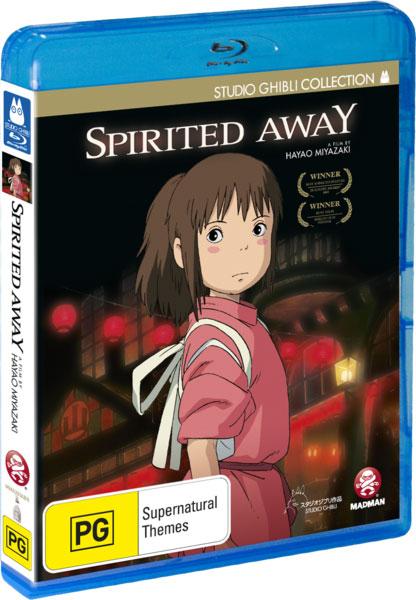 Spirited Away Blu Ray Review Spotlight Report