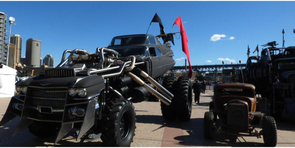 mad max fury road vehicle showcase takes over sydney spotlight report the best entertainment. Black Bedroom Furniture Sets. Home Design Ideas