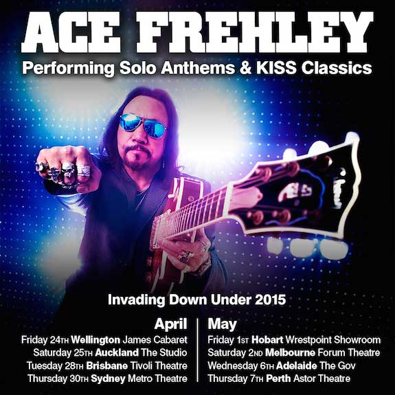 Ace Frehley tour poster