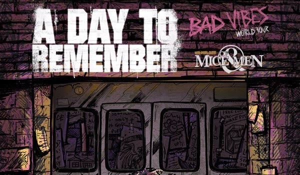 A day to remember tour dates in Sydney
