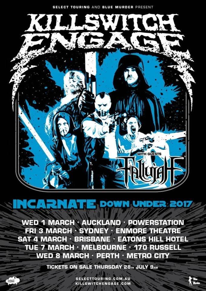 killswitch-engage-australian-tour