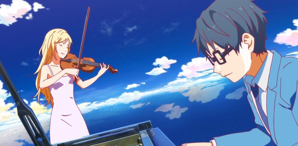 Апрель это твоя ложь музыка из аниме скачать