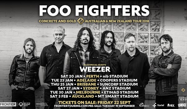 Foo Fighter Uk Tour Dates