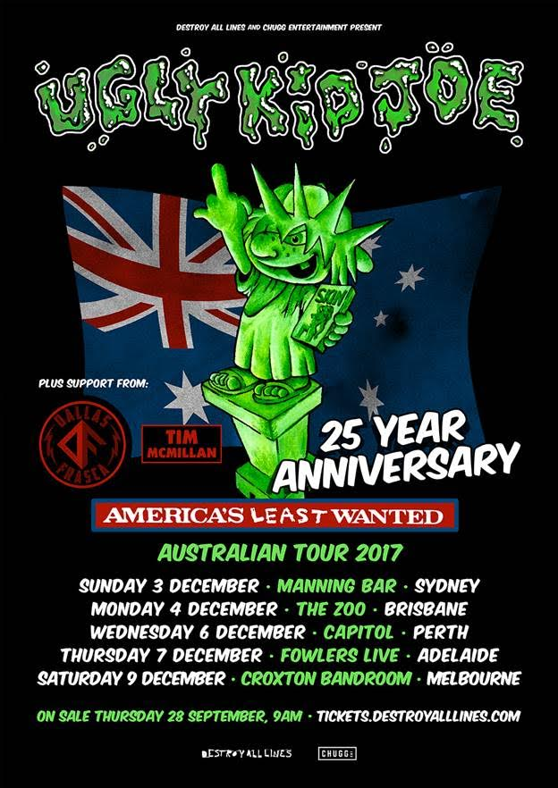 Ugly Kid Joe Tour Dates