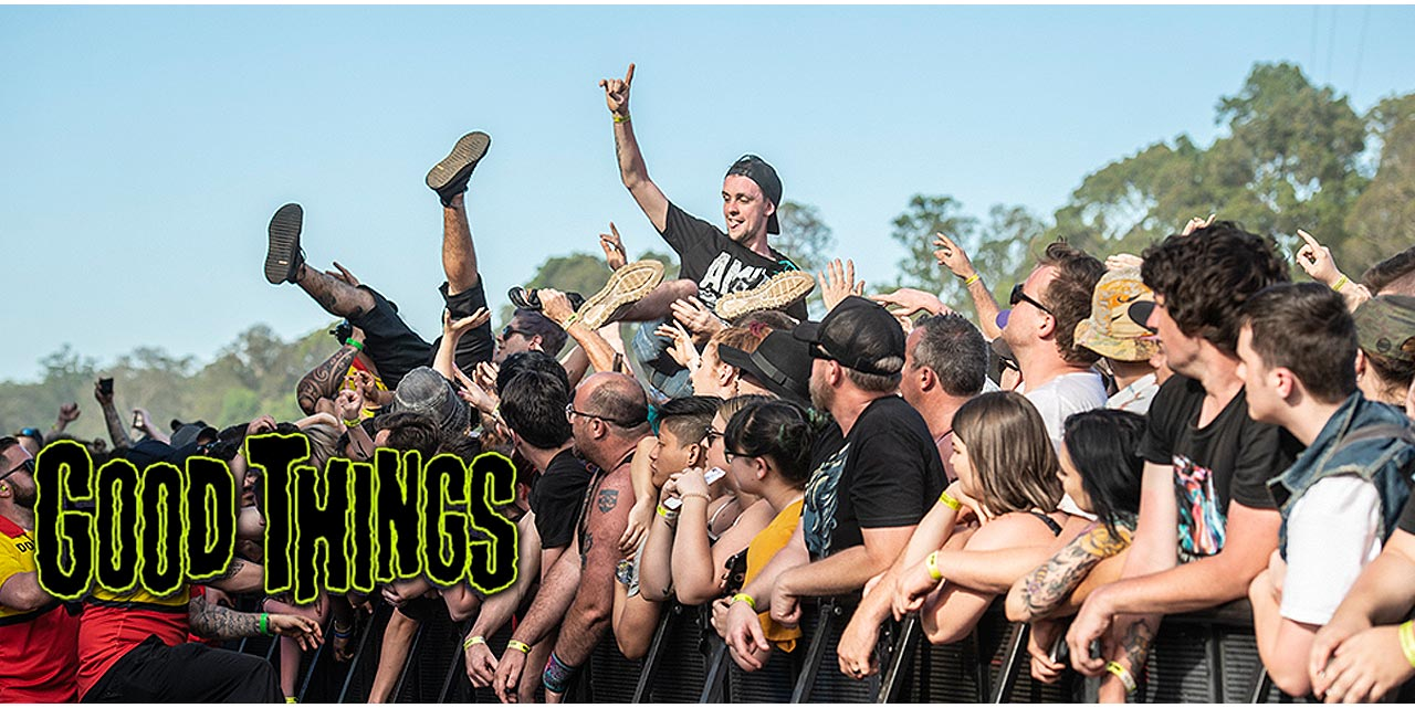 Good Things Festival: Australia's Rock Prayers Have Been ...